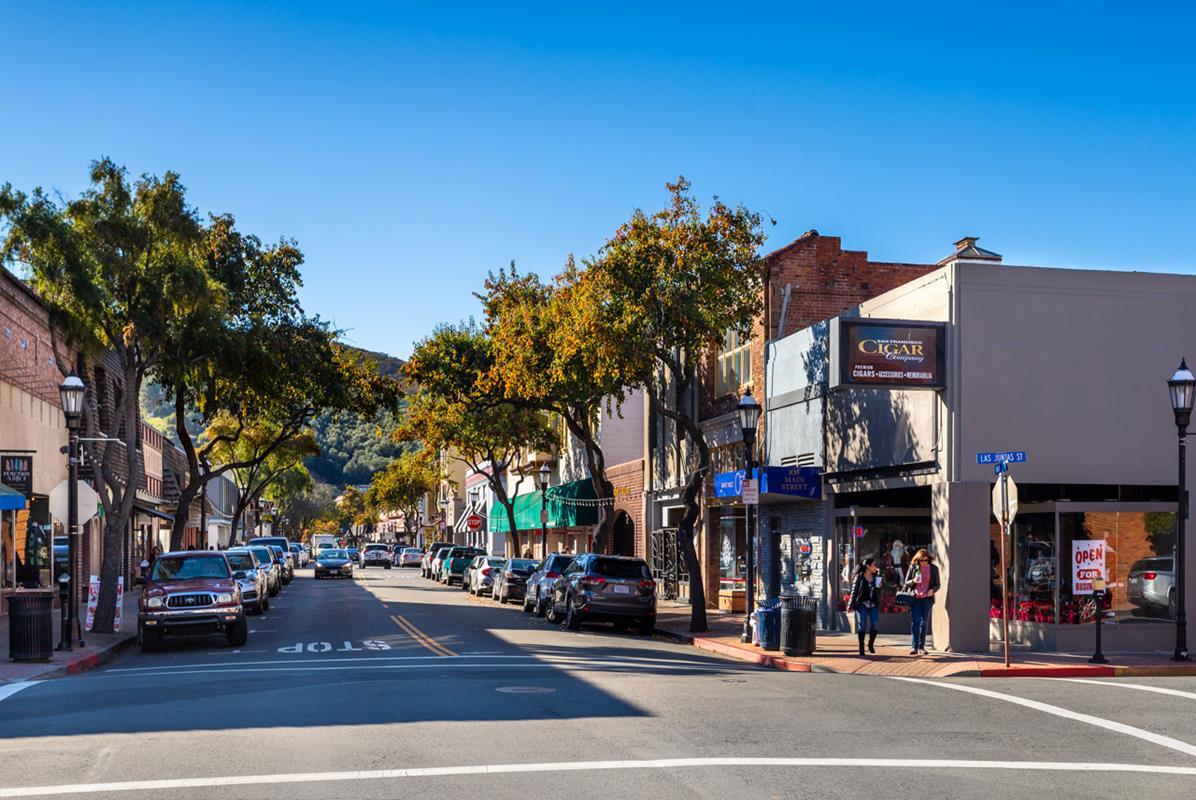 Martinez CA downtown